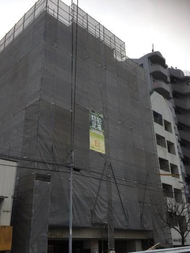 足場中層住宅7